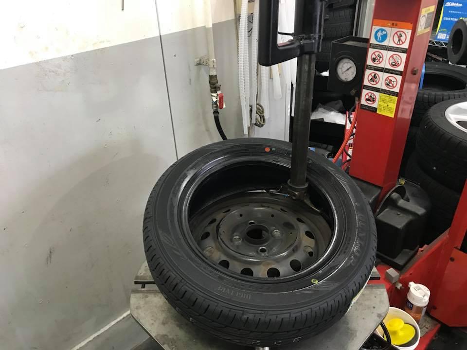 タイヤ 持ち込み 交換 グリピット 四日市 松阪