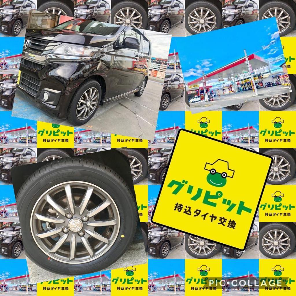 松阪市に持ち込みタイヤ交換ご来店いただきました、タイヤ持ち込み交換お待ちしております、ネットで買ったタイヤを直送できます、