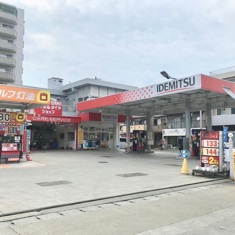 岐阜市、持ち込みタイヤ交換 出光 セルフみやこSS ホンダ N-BOX 155/65R14 4本5000円