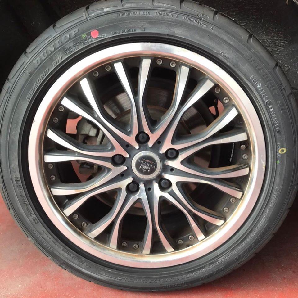 【話題の節約術】タイヤ持ち込み交換 シェル セルフニューハートSS トヨタ ヴォクシー 215/50R17 4本7000円