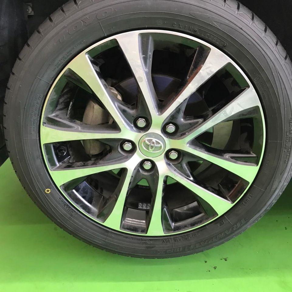 【話題の節約術】タイヤ持ち込み交換 シェル セルフニューハートSS  トヨタ  エスティマ  225/50R18 4本7000円