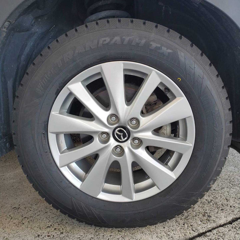 タイヤ持ち込み交換 シェル 桑名店 マツダ  CX-5  225/65R17 4本7000円