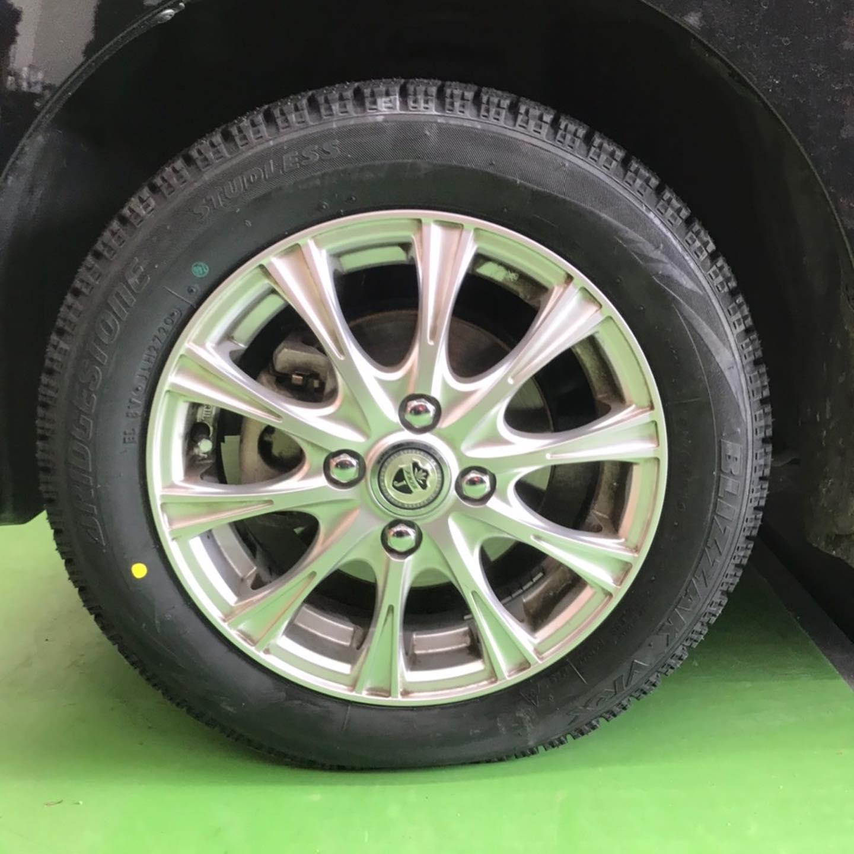 【話題の節約術】タイヤ持ち込み交換 シェル セルフニューハートSS ダイハツ ムーヴ 155/65R14 4本 5000円
