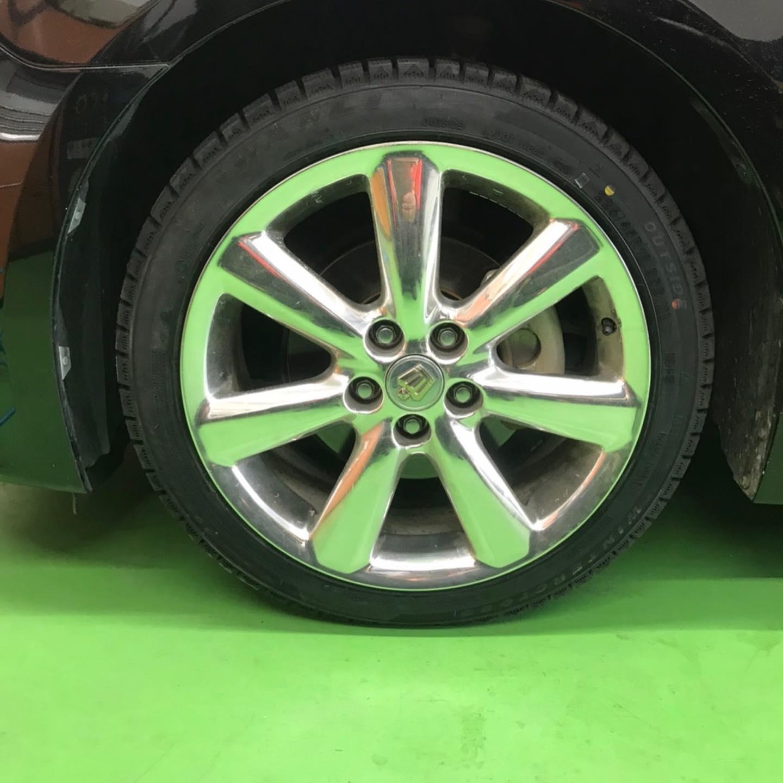 【話題の節約術】タイヤ持ち込み交換 シェル セルフニューハートSS トヨタ  クラウン 225/45R18 4本 7000円
