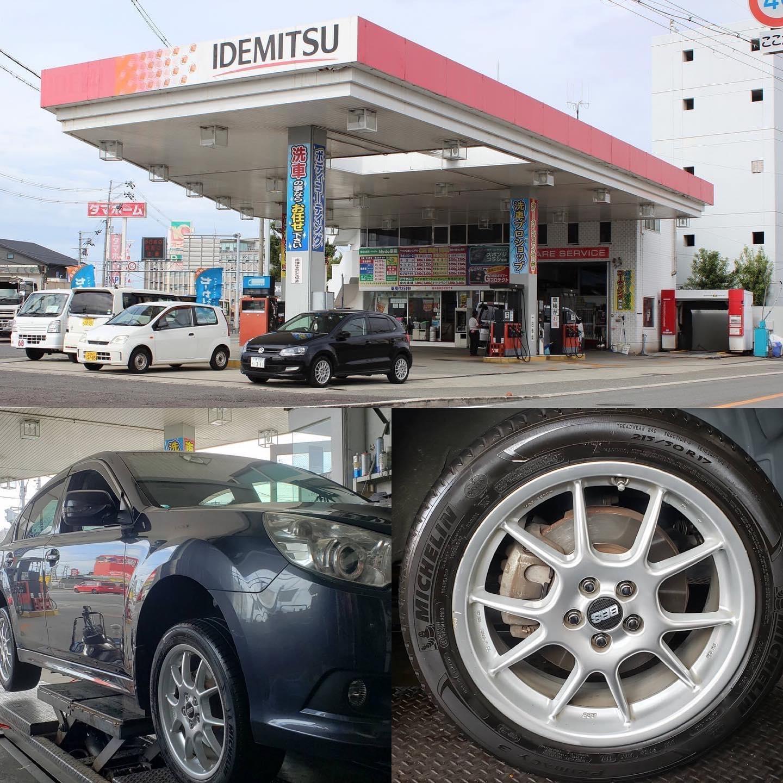 持ち込みタイヤ交換グリピット加盟店が、大阪府堺市にオープンいたしました‼️ 店舗名は【出光 美原SS】