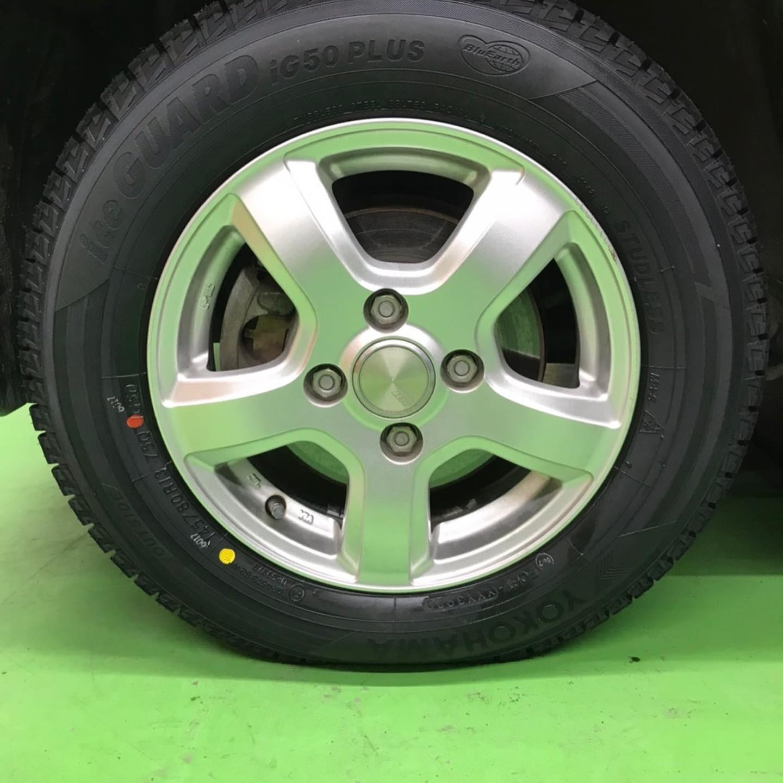 【話題の節約術】タイヤ持ち込み交換 シェル セルフニューハートSS ダイハツ  タント 145/80R13 4本 5500円