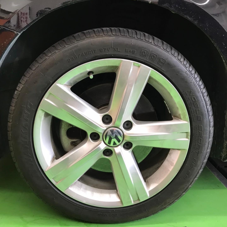 【話題の節約術】タイヤ持ち込み交換 シェル セルフニューハートSS  VW  パサート 235/45R17  4本 7700円